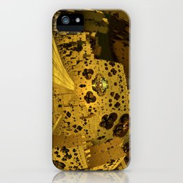 City of Golden Dust iPhone Case