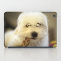 moriarty iPad Cases featuring Moriarty & The Bully Stick by Mitch Tuckness