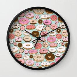 Donut Wonderland Wall Clock
