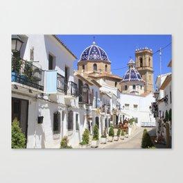 Altea Spain Canvas Print