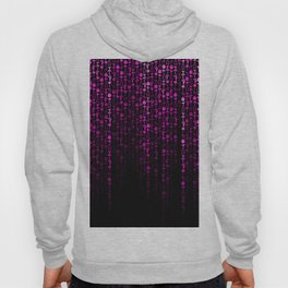 Bright Neon Pink Digital Cocktail Party Hoody