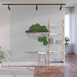 Everyday I'm Brusselin', Funny Art Wall Mural