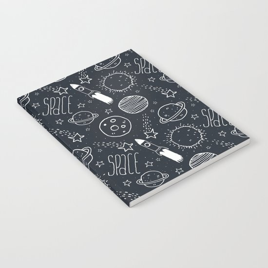 Space Doodles Notebook