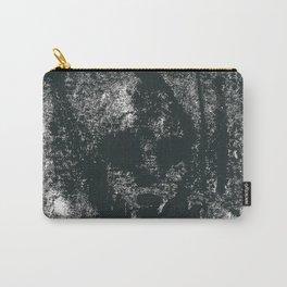 Ash Face Monoprint Carry-All Pouch