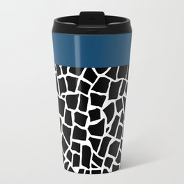 British Mosaic Navy Boarder Travel Mug