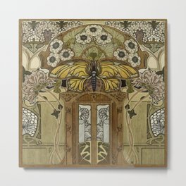 The Door to Eden Metal Print