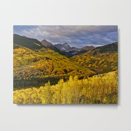 Aspen Sunrise, Colorado Metal Print
