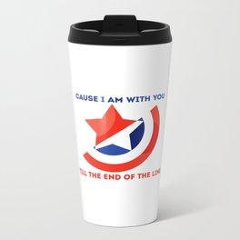 Till The End Of The Line Metal Travel Mug