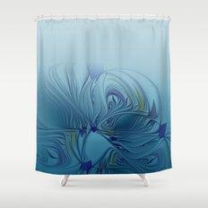 curtain fractal design -120- Shower Curtain