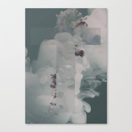 Poster T Red Canvas Print