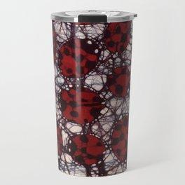 Ladybug Batik Travel Mug