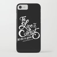 verse iPhone & iPod Cases featuring Typographic Verse by Ruthie Designs