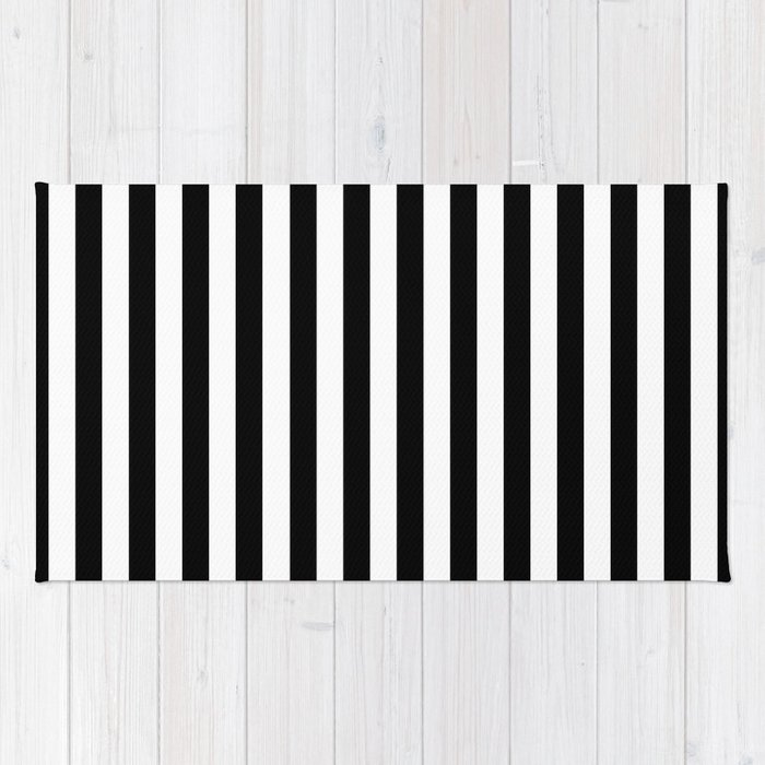and runner striped rugs home design black rug white ideas