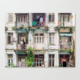 Yangon Canvas Print