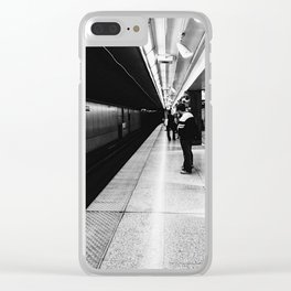 Yonge and University Clear iPhone Case