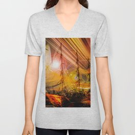 Romance of sailing Unisex V-Neck