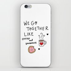 Like Coffee and Donuts iPhone & iPod Skin