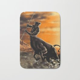 tauro-zodiac Bath Mat