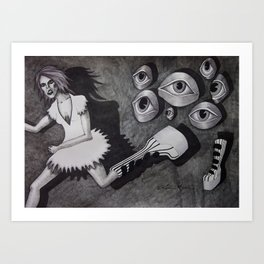 I think I Am Being Watched Art Print
