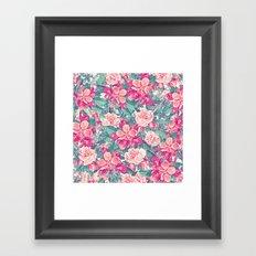 Summer Garden 6 Framed Art Print