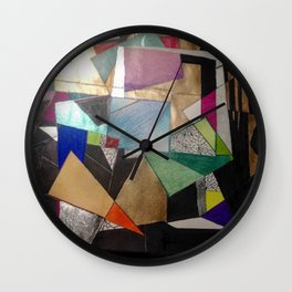 Lost in The States of Mind Wall Clock