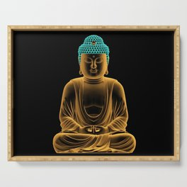 Buddha glow Serving Tray