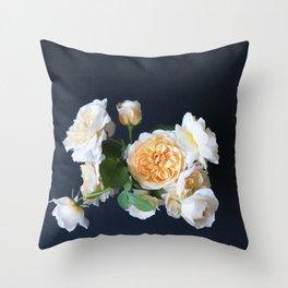 English roses Still life Throw Pillow
