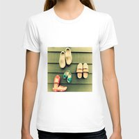 wooden T-shirts featuring Wooden shoes by Julia Tomova