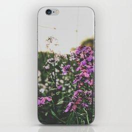 Purple Flowers • Appalachian Trail iPhone Skin