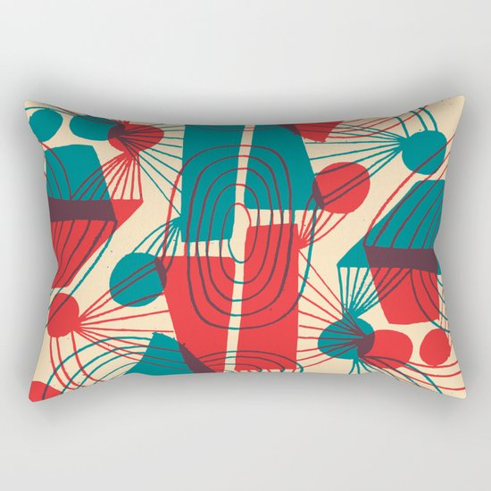 Floating Thoughts Rectangular Pillow