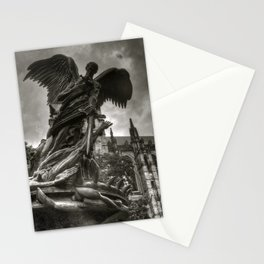 Angel with a sword Stationery Cards