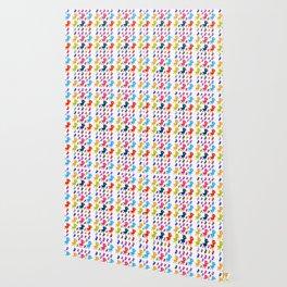 Ducklings rainbow cartoon Wallpaper