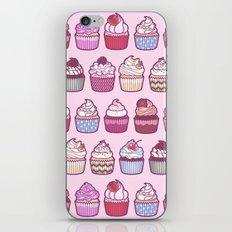 Cupcakes Galore iPhone & iPod Skin