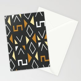 African Tribal Pattern No. 12 Stationery Cards