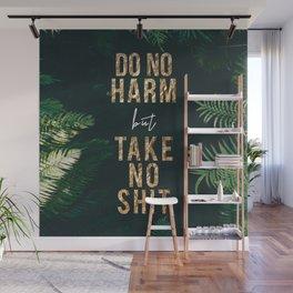 DO NO HARM but TAKE NO SHIT Wall Mural