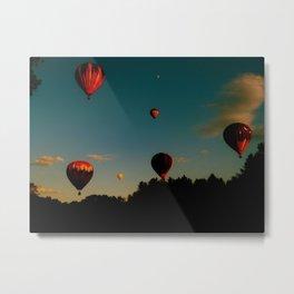 Balloon Bonanza Metal Print