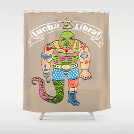 Lucha Libra! Shower Curtain