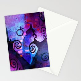 Midnight In My Mind Stationery Cards