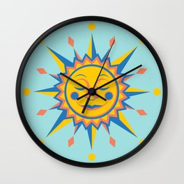 Summer's Joy Wall Clock