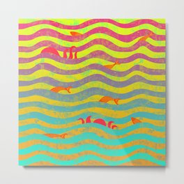 Sea roomate tropical Metal Print