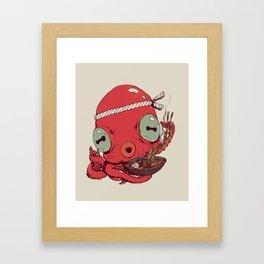 Spicy Ramen Framed Art Print