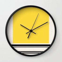 Code Yellow Wall Clock