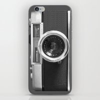 anna iPhone & iPod Skins featuring Camera by Nicklas Gustafsson