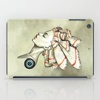 moth iPad Cases featuring Moth 2 by Freeminds