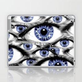 Blue Eyes HD by JC LOGAN 4 Simply Blessed Laptop & iPad Skin