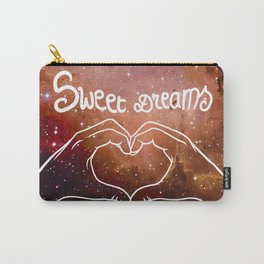 Galaxy Gold Love Carry-All Pouch