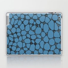 Yzor pattern 006 kitai blue Laptop & iPad Skin