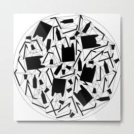 world trash Metal Print