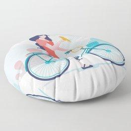 Mai and Bella  Floor Pillow