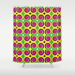 Swirly Pattern 1 Shower Curtain